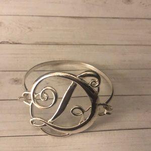 Jewelry - Monogram Bracelet Letter D